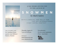 Snowmen Launch Invite